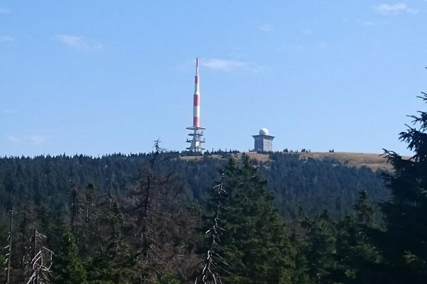 Der Brocken - höchster Berg im Harz